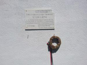 Szabó Lőrinc emlékmű